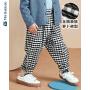 【3折价:48】迷你巴拉巴拉儿童裤子男童宽松长裤年秋季新款女童宝宝萝卜裤