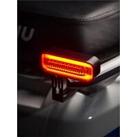 小牛车灯改装警示灯装饰高亮LED电动车配件灵兽12V创意左右流水灯