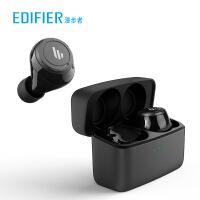 Edifier/漫步者 TWS5蓝牙耳机真无线双耳迷你隐形耳塞入耳式运动跑步苹果男女安卓5.0手机微小型待机续航