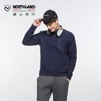 【顺心而行】诺诗兰户外男士防风保暖休闲透气卫衣GL065605