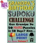 【中商海外直订】Grandpa's Birthday Sudoku Challenge: Can Grandpa do