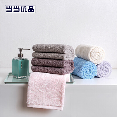 【2件5折】当当优品毛巾 A类阿瓦提长绒棉毛巾面巾130g 35*74