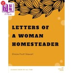 【中商海外直订】Letters of a Woman Homesteader