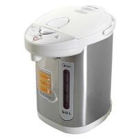 【当当自营】Midea美的 电热水瓶PD105-50G 304不锈钢电水壶 烧水壶