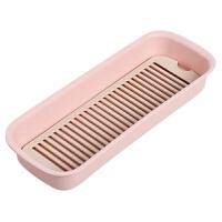 沥水筷子盒厨房餐具勺子收纳盒家用多功能塑料筷子筒筷子笼