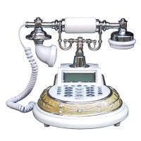 仿古电话座机家用插线固定复古古董欧式办公电话机