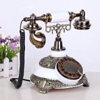 仿古电话机欧式古董复古电话机创意时尚家用座机田园办公电话机