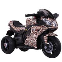 儿童电动摩托车三轮车小孩玩具童车可坐人充电