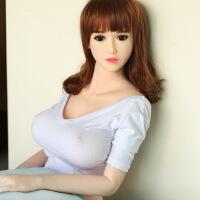 115cm实体娃娃真人版非充气仿真娃娃全身硅胶带骨骼男用自慰器性用品性玩具 默认规格