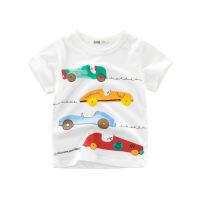 童装T恤夏装kids儿童短袖男童T恤衬衫宝宝上衣
