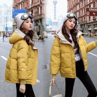 羽绒棉服超值秒杀!仅限今日!冬季新款棉服女短款棉袄ins面包服学生韩版宽松棉衣羽绒外套