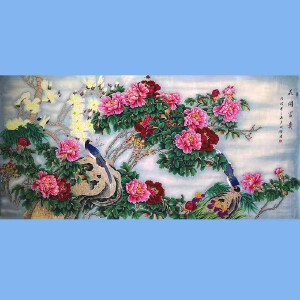 中国工艺美术学会会员,山东美协会员,中日书画交流学会会员胡记领(花开富贵)13