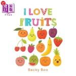 【中商海外直订】I Love Fruits