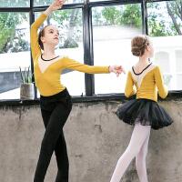 儿童舞蹈服女童长袖练功服秋冬棉长裤芭蕾蓬蓬裙少儿中国舞套装