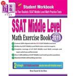 【中商海外直订】SSAT Middle Level Math Exercise Book: Student Workb