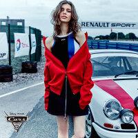 [9月12日3件7折到手价:182元]ochirly欧时力新女装纯色宽松立领休闲长袖外套1JH3047220