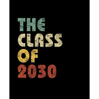 【预订】The Class of 2030: Vintage Composition Notebook For Note