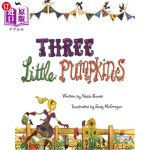 【中商海外直订】Three Little Pumpkins