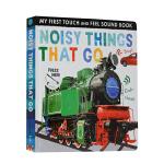 Noisy Things That Go 交通工具 儿童触摸发声书 英文原版