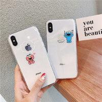 iPhone xsmax手机壳搞怪网红卡通8plus透明简约苹果x手机壳iPhoneX/7plus/6s女款11 Pro