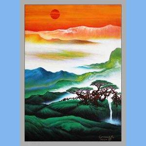张大千真传弟子之一,中国国家风水画首席大师,著名书法家画家,中国书法家协会副主席,中国艺术书画院特聘画家(春日暖阳)