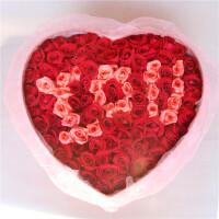 【花语叶情】鲜花速递99支玫瑰礼盒送爱人 送闺蜜 送朋友 节日鲜花 生日礼品鲜花 北京 上海 广州 武汉全国同城鲜花速
