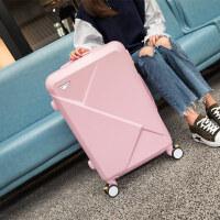 行李箱小清新万向轮旅行箱登机箱20寸韩版子母箱男女潮26寸拉杆箱24寸 公主粉 20寸