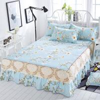 席梦思床罩床裙式床套单件防尘保护套1.5米1.8m床单女床笠防滑