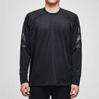 adidas阿迪达斯男子长袖T恤篮球运动服DM8463