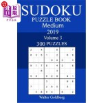 【中商海外直订】300 Medium Sudoku Puzzle Book 2019
