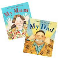 My Mum & My Dad (Anthony Browne) 我妈妈、我爸爸两册套装(安东尼・布朗英语英文原版绘本