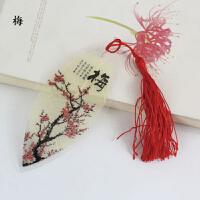 善书者BookMark 叶脉书签/梅 SQ-YM131 古典书籍便签夹书签 创意中国古风唯美甜美浪漫时间记录手账标签大