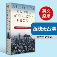 All Quiet on the Western Front,西线无故事  Erich Maria Remarque雷马克作品 英文原版
