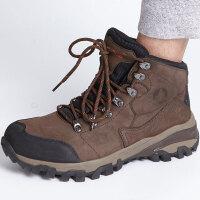 探路者登山鞋 秋冬户外男式防滑耐磨登山鞋HFBF91002