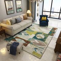 复古美式乡村北欧地毯客厅茶几沙发地毯卧室满铺床边地毯家用 200cmx300cm【升级款 可水洗