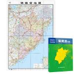 中华人民共和国分省系列地图:福建省地图(0.749米*1.068米 盒装折叠)