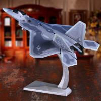 f22飞机仿真模型1:72F-22战斗机模型美式猛禽航模飞机模型仿真合金军事成品摆件送战友