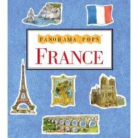 英文原版 小开本全景立体书:法国 France: A 3D Keepsake Cityscape