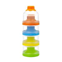 奶盒分装 奶粉盒便携外出迷你四层奶粉格婴儿分隔盒宝宝装米粉盒 四层奶粉盒