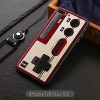 苹果6手机壳创意复古磁带iphone7/8plus硅胶套女6splus个性潮牌男