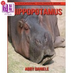 【中商海外直订】Hippopotamus! An Educational Children's Book about