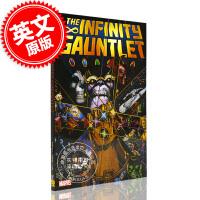 现货 无限手套 英文原版 Infinity Gauntlet 漫威漫画 灭霸 复仇者联盟 蜘蛛侠 无限宝石 吉姆・斯大