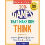 【预订】Brain Food: 100+ Games That Make Kids Think