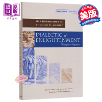【中商原版】霍克海默:启蒙辩证法 英文原版 Dialectic of Enlightenment Max Horkheimer Stanford University Press