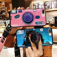 复古相机手机壳女s2pro蓝光A网红米5同款ins红米5plus硅胶软套4少女款4x情侣潮个性创