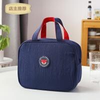 保温袋装饭盒袋子大号保冷午餐包铝箔加厚防水便当包带饭的手提袋SN6090