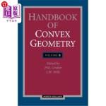 【中商海外直订】Handbook of Convex Geometry