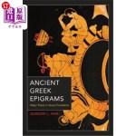 【中商海外直订】Ancient Greek Epigrams: Major Poets in Verse Transl