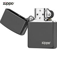zippo芝��打火�C美��正版原�b150ZL-A-042598黑冰�酥�