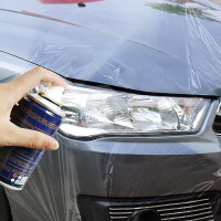 汽车大灯修复液自喷划痕修复速亮抛光剂车灯清洗翻新修复工具套装